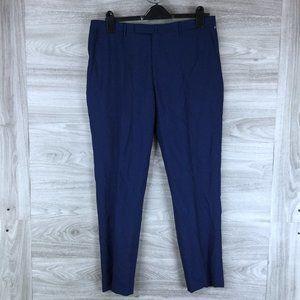 BOGLIOLI Solid Stretch Wool Pants